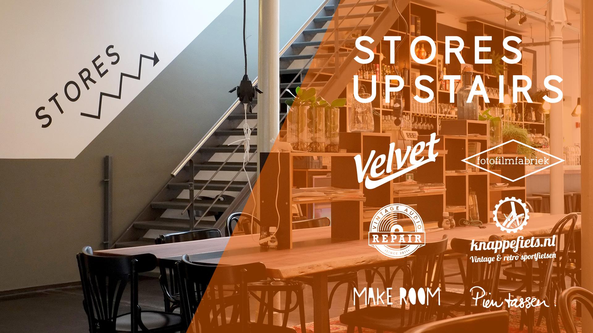 Het Magazijn | Stores Upstairs | Winkels op de eerste verdieping | Velvet Music Dordrecht | FotoFilmFabriek
