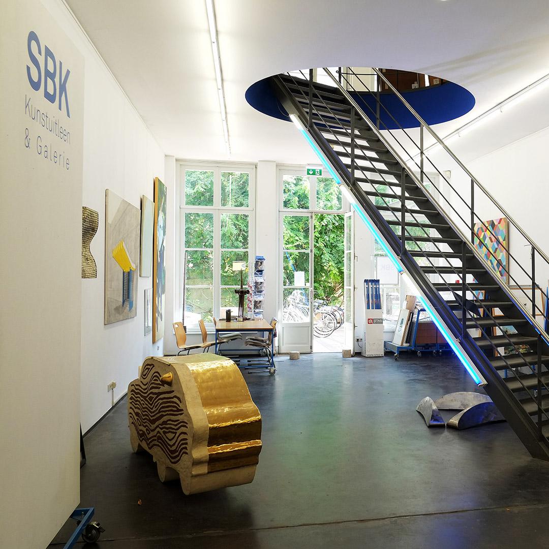 SBK Kunstuitleen & Galerie | Het Magazijn | Dordrecht onder één dak