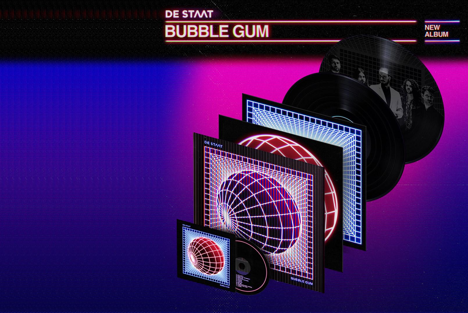 De Staat | Bubble Gum | Limited Edition Independent Record Store Only | Velvet Music Dordrecht | Het Magazijn