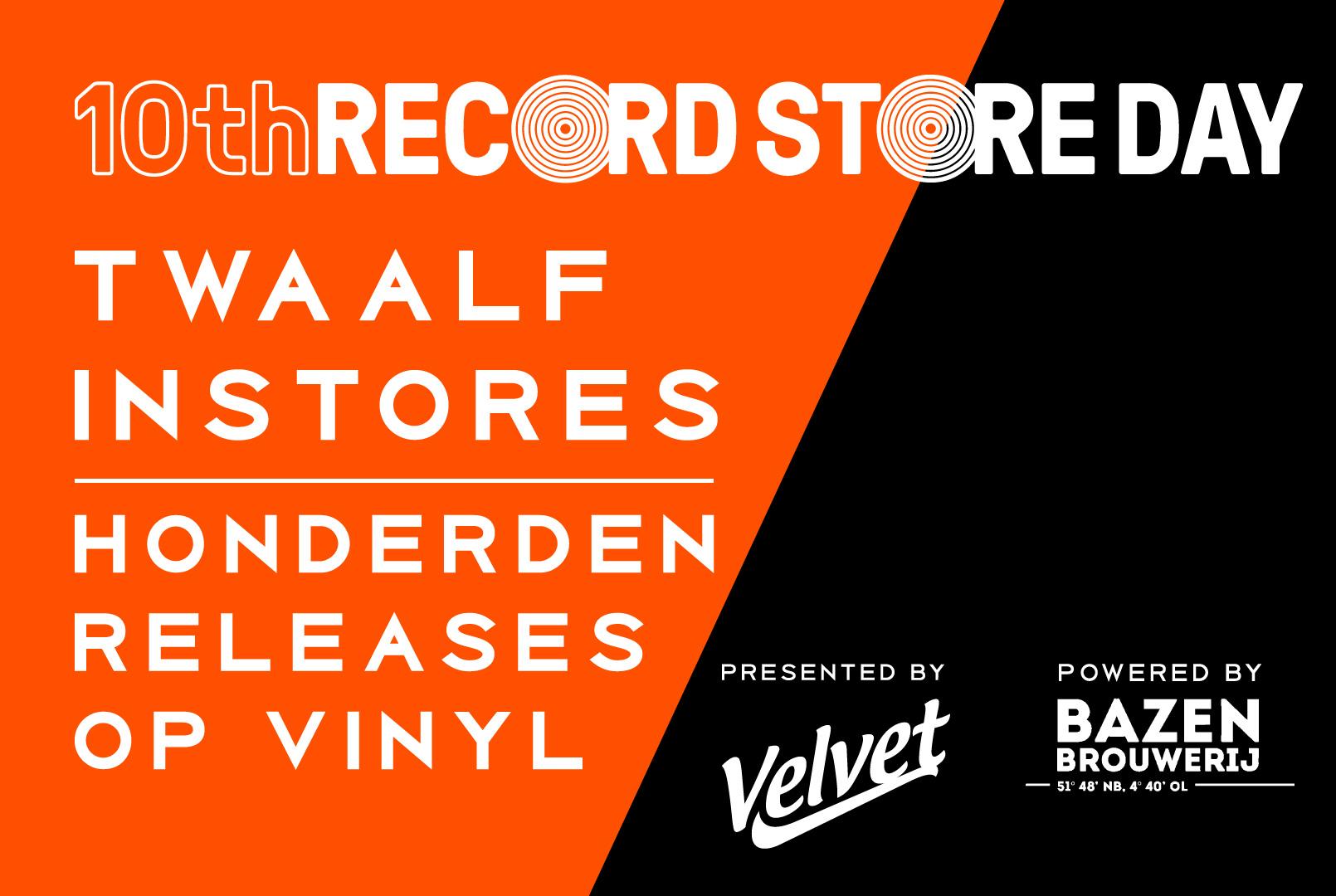 Record Store Day 2019 | Instore optredens | Velvet Music Dordrecht | Het Magazijn
