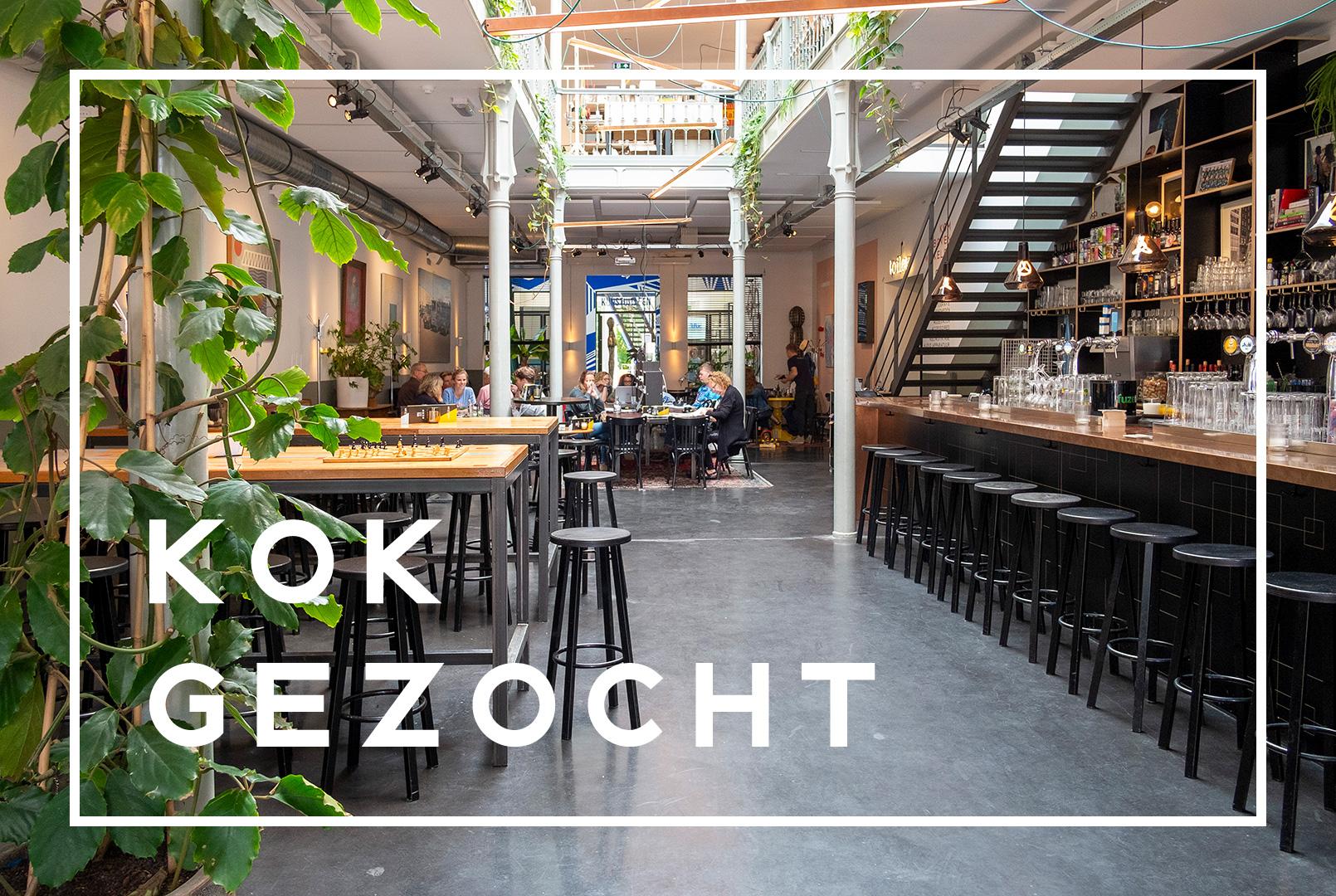 Kok gezocht | Restaurant Het Magazijn | Dordrecht onder één dak