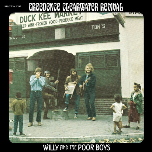 Creedence Clearwater Revival | Willy And The Poor Boys | Limited Edition Indie Only | Green Colored Vinyl | Velvet Music Dordrecht