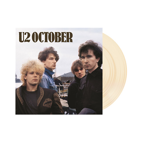 U2 | October | Limited Edition Indie Only | Cream Colored Vinyl | Velvet Music Dordrecht