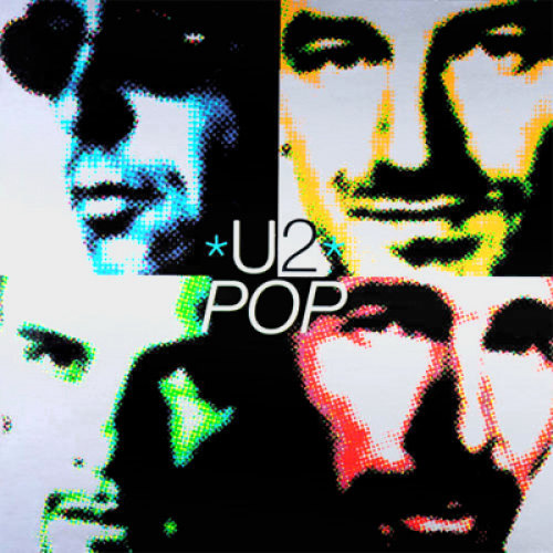 U2 | Pop | Limited Edition Indie Only | Orange Colored Vinyl | Velvet Music Dordrecht
