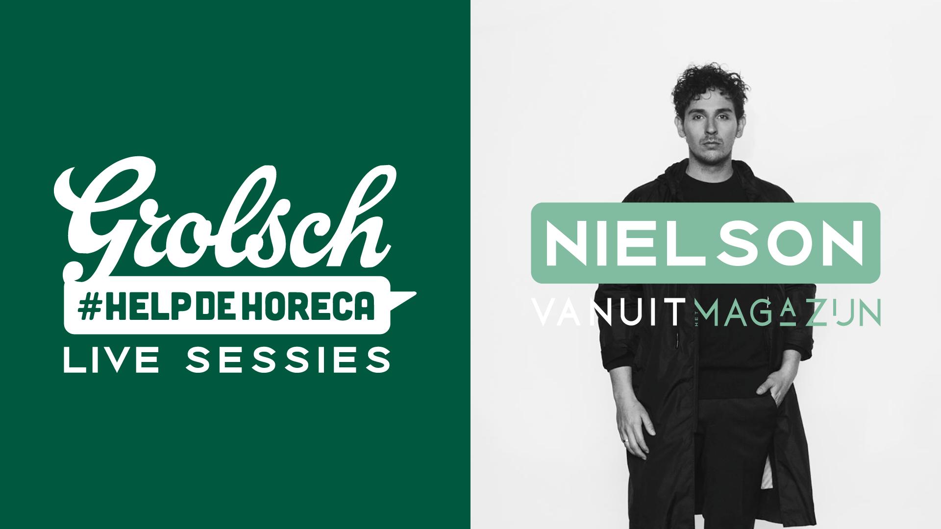 Grolsch Live Sessies | Nielson Live In Het Magazijn | Voorstraat 180 Dordrecht
