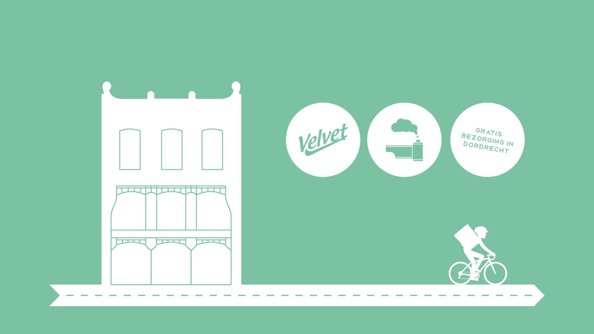 Velvet en FotoFilmFabriek bezorgen gratis in Dordrecht | Het Magazijn