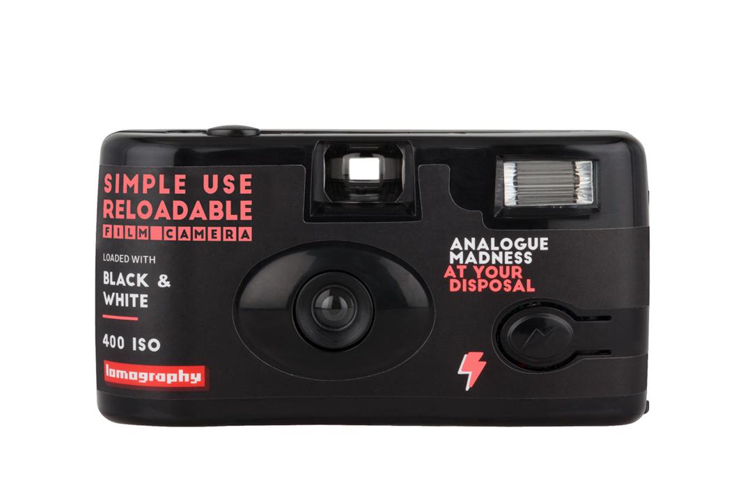 Lomography | Simple Use Camera | Zwart-wit 400 | FotoFilmFabriek