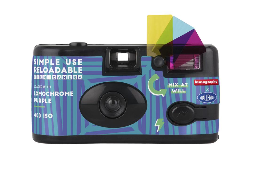 Lomography | Simple Use Camera | Purple - Challenger Edition | FotoFilmFabriek