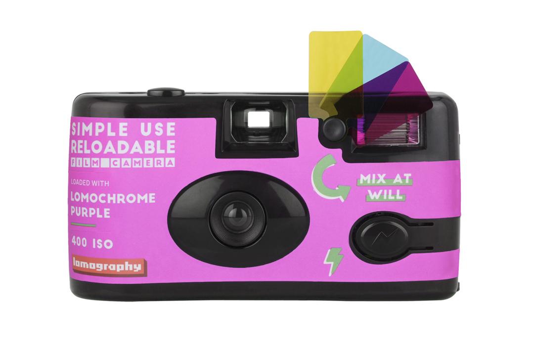 Lomography | Simple Use Camera | Purple | FotoFilmFabriek